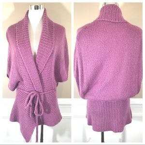 Benneton Purple Kimono Sweater Cardigan (UK16)